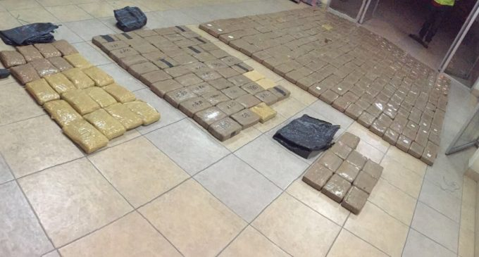 Operación Rivera evitó la comercialización de un millón de dosis de cocaína