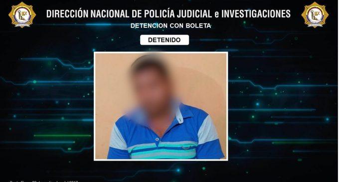 Presunto femicida fue capturado