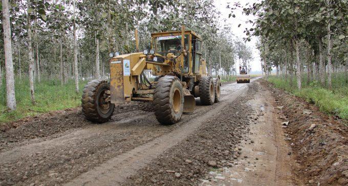 Provincia de Los Ríos se alista para el invierno arreglando vías rurales