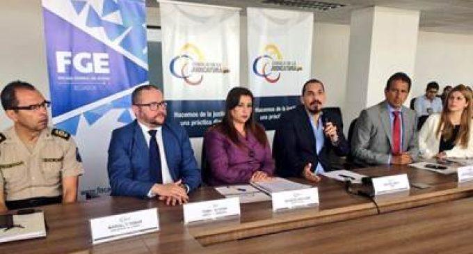 LA JUDICATURA PRESENTÓ RESULTADOS DE AUDITORÍA AL PROCEDIMIENTO DIRECTO EN UNIDADES DE FLAGRANCIA DE GUAYAS