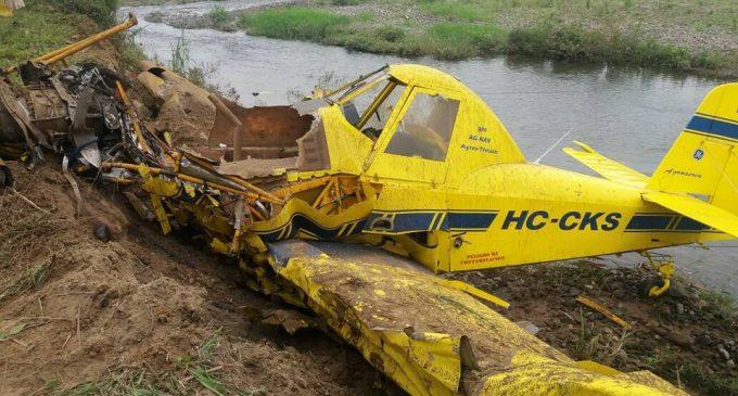Piloto falleció en accidente aéreo
