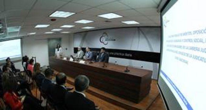INICIA CONCURSO PÚBLICO PARA LLENAR VACANTES ADMINISTRATIVAS EN EL CONSEJO DE LA JUDICATURA