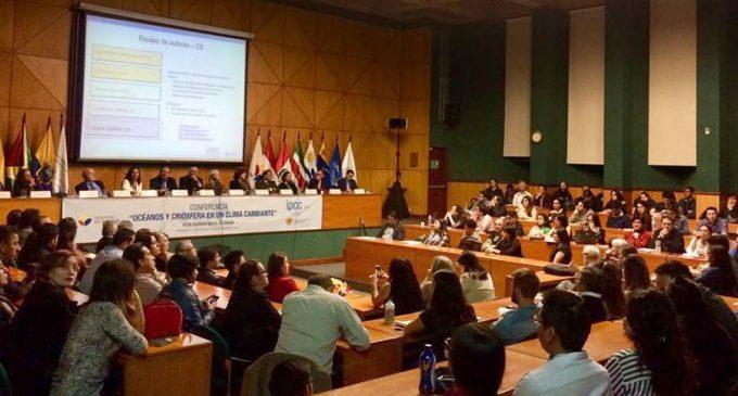 Científicos del Panel Intergubernamental de Cambio Climático lideraron evento