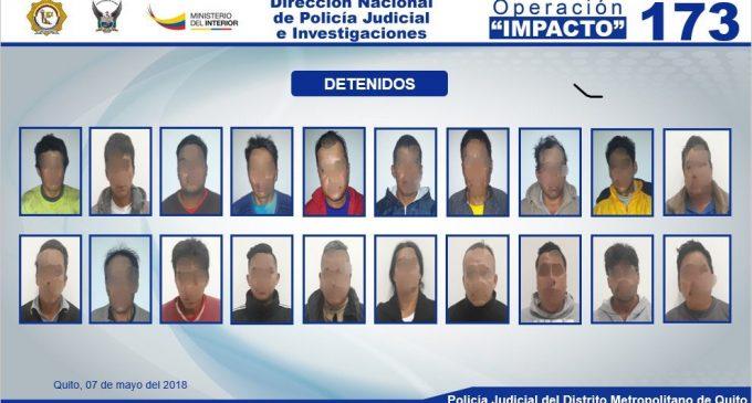 """""""Impacto 173"""" evitó el robo de productos de primera necesidad de la unidad nacional de almacenamiento"""