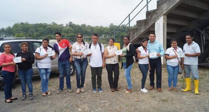 Estudiantes de ITSCV realizan practicas en GAD Valencia