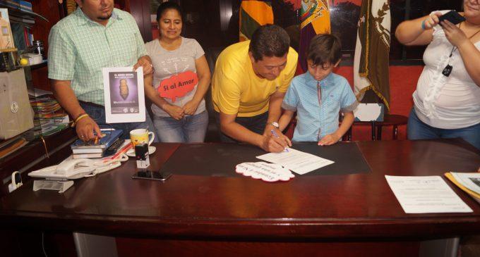 MIES y GADM de Valencia firman acta de compromiso