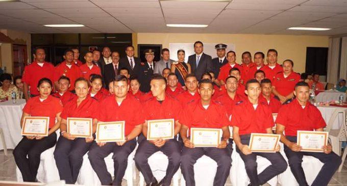 Cuerpo de Bomberos de Valencia incorporó primera promoción