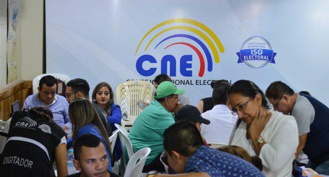 Junta Electoral calificará candidaturas