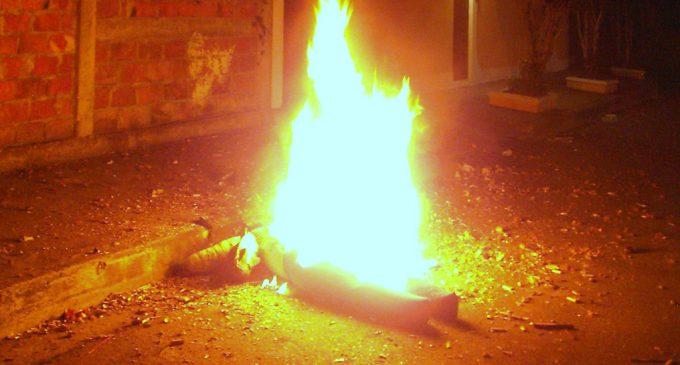 Recomiendaciones para quema de monigotes