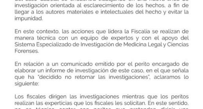Nueva investigación en caso Gabela