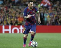 Lionel Messi, tras crear la jugada del triunfo