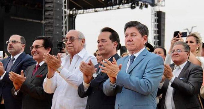 PREFECTO ASISTIÓ A SESIÓN SOLEMNE DEL GUAYAS
