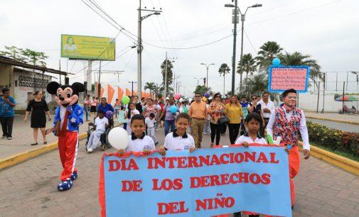GAD DE BABA CELEBRÓ DÍA INTERNACIONAL DE LOS DERECHOS DEL NIÑO