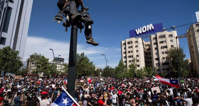 Este lunes se reactivarán las protestas en Chile