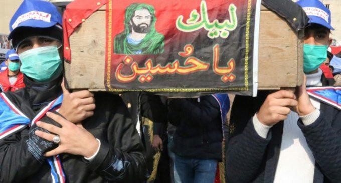 Continúan manifestaciones en Irak para exigir una nueva Constitución