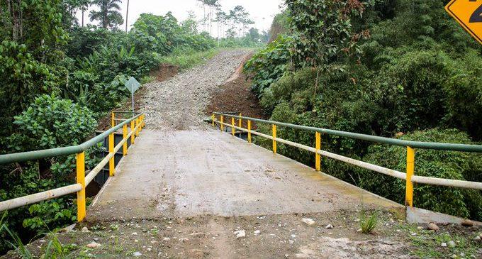 GOBIERNO DE LOS RÍOS CONSTRUYE PUENTE METÁLICO
