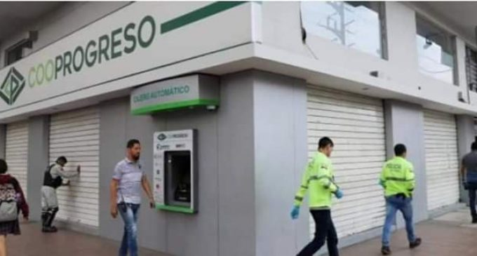 DELINCUENTES SE LLEVARON 50 MIL DÓLARES