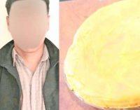 El 'peruano' está con prisión preventiva por tratar de vender base de cocaína en forma de un queso