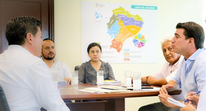 PREFECTO MANTUVO REUNIÓN CON MINISTRO DE AGRICULTURA