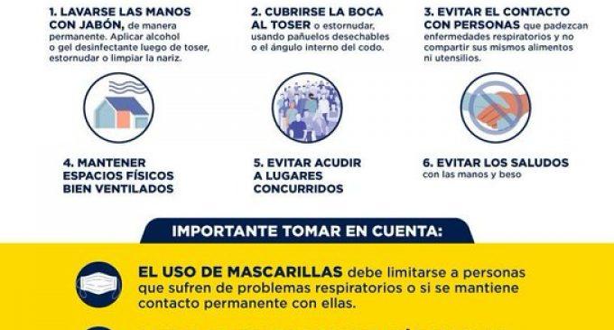 GOBIERNO DE LOS RÍOS HACE RECOMENDACIONES PARA MINIMIZAR EL CONTAGIO POR COVID