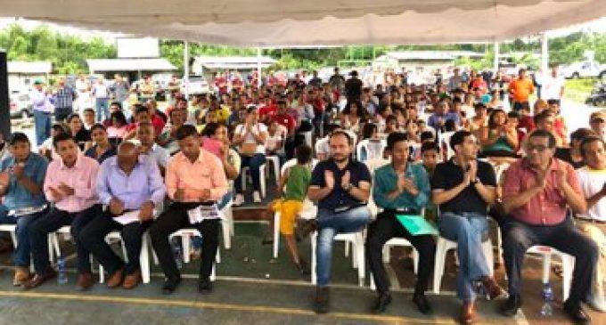 TERÁN EXPRESA SU COMPROMISO PARA OBRAS EN EL SECTOR AGRÍCOLA