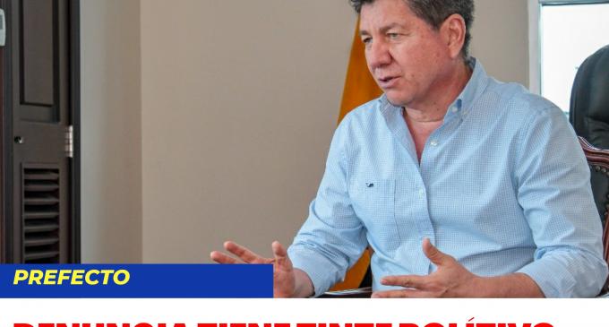PREFECTO TERAN DICE QUE DENUNCIA PLANTEADA AL TCE CARECE DE FUNDAMENTO