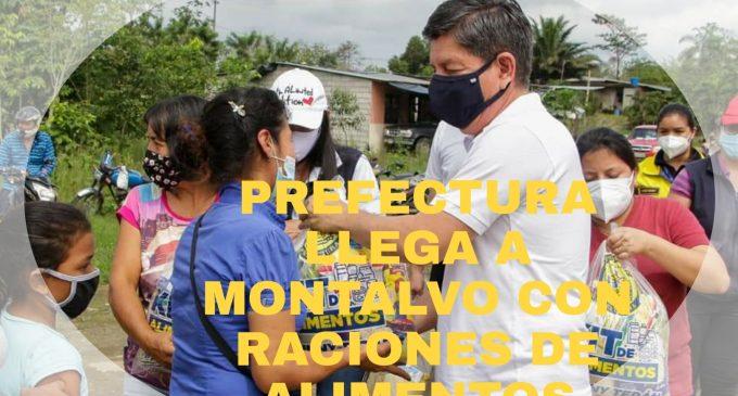 VAMOS RECINTOS DE MONTALVO RECIBEN RACIONES