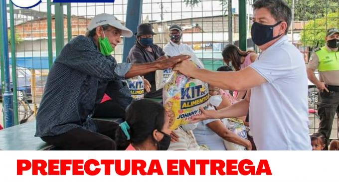 PREFECTURA DE LOS RÍOS ENTREGA RACIONES ALIMENTICIAS