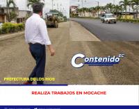 PREFECTURA DE LOS RÍOS REALIZA TRABAJOS EN MOCACHE