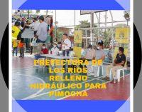 PREFECTURA DE LOS RÍOS EXTIENDE RELLENO HIDRÁULICO HASTA PIMOCHA