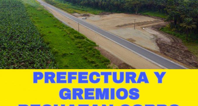 PREFECTURA DE LOS RÍOS RECHAZA COBRO ANTICIPADO DEL PEAJE EN LA VÍA E-25