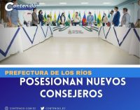 PREFECTURA DE LOS RÍOS POSESIONA NUEVOS CONSEJEROS